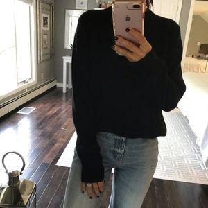 Tahari Sweaters - TAHARI black luxe cashmere classic sweater Large